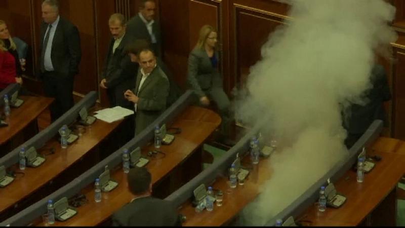 fumigene Kosovo