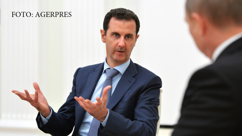 Bashar al-Assad in vizita la Vladimir Putin