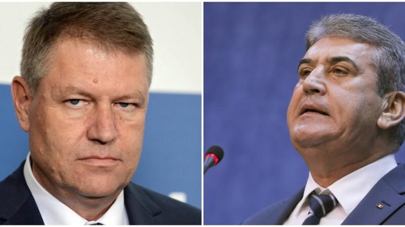 Presedintele Klaus Iohannis avizeaza cererea de urmarire penala a lui Gabriel Oprea