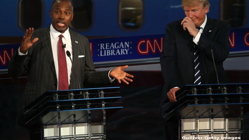 Alegeri SUA 2016. Carson il depaseste in sondaje pe Trump. Topul gafelor: \
