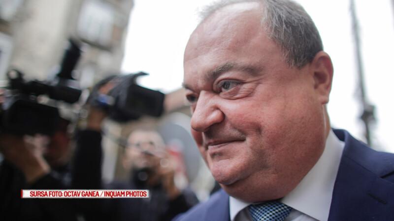 Vasile Blaga se prezinta la sediul Directiei Nationale Anticoruptie (DNA), in Bucuresti, luni, 18 septembrie 2016