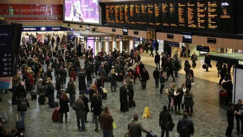 Gara Euston din Londra, evacuata duminica dupa amiaza din cauza unei alerte de securitate