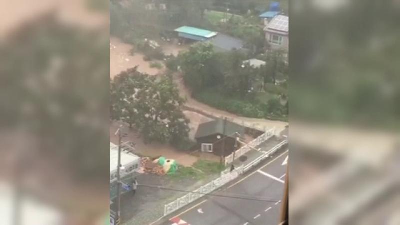 inundatii in Coreea de Sud