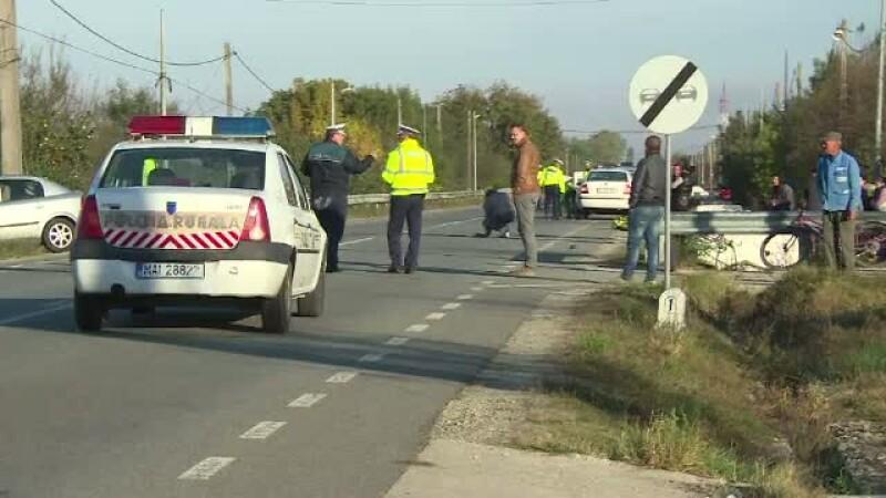 Un barbat din Gorj a murit, dupa ce calul sau a fost lovit de o masina si proiectat peste victima. Reactia sotiei