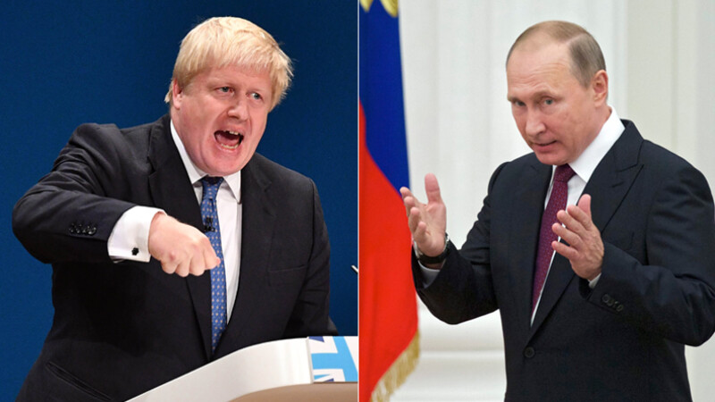 Scandal diplomatic intre Kremlin si Londra. Boris Johnson ii acuza pe rusi de crime de razboi, in replica e facut