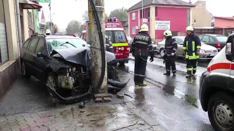 accident in Satu Mare