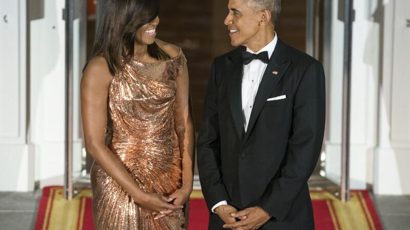 Michelle Obama, Barack Obama, dineu