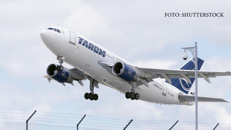 Airbus A310 al TAROM pe Barajas