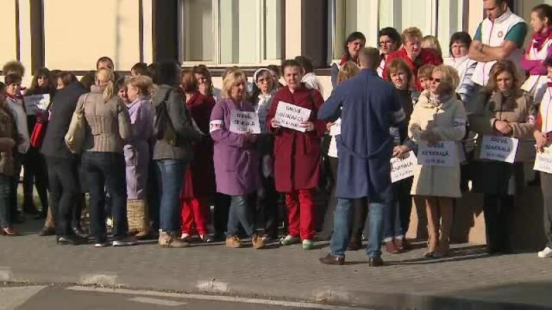 Proteste cadre medicale