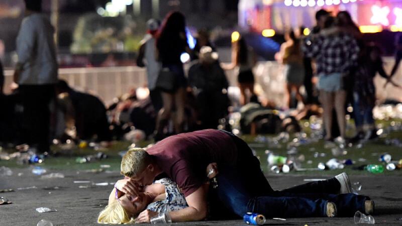 Masacrul din Las Vegas. Cele mai impresionante imagini. GALERIE FOTO