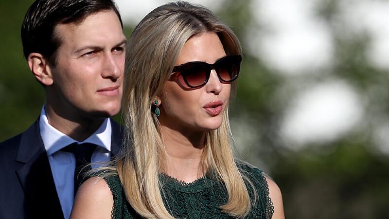 Jared Kushner si Ivanka Trump