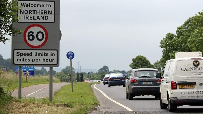 Irlanda de Nord - Getty/AFP