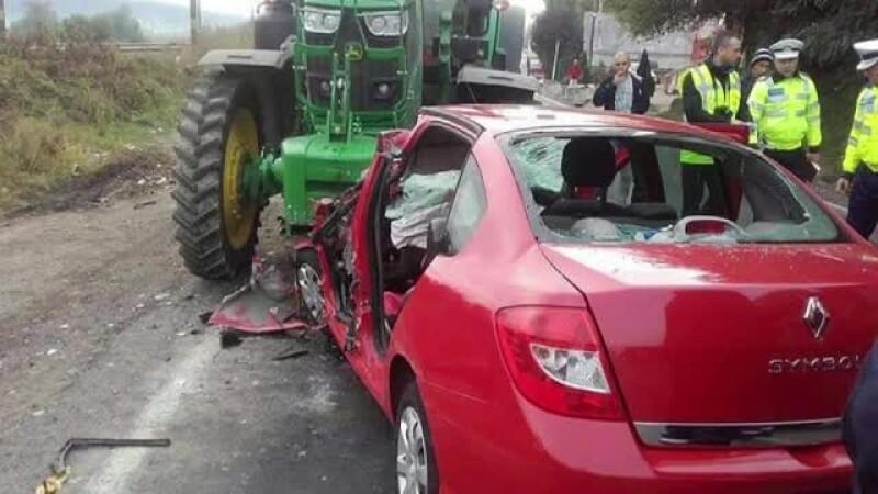 Accident cu 2 morţi într-un sat din Bacău