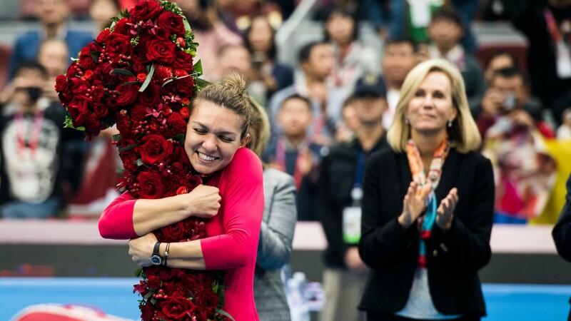 Simona Halep va termina anul pe locul 1 WTA, după ce Kerber a fost eliminată la China Open