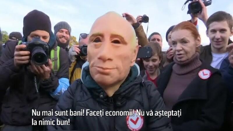 Protest in Rusia