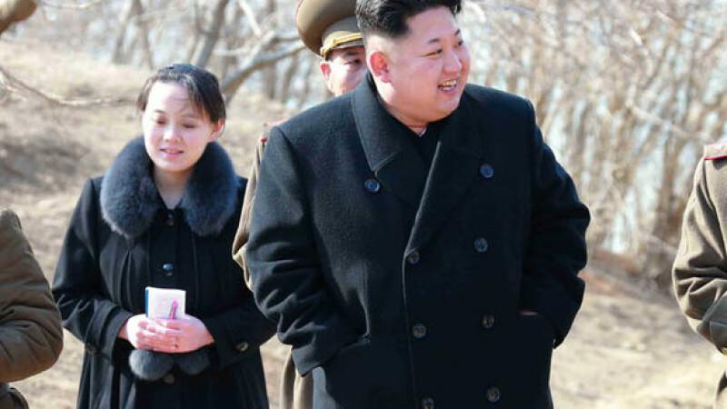 Kim Jong-un și-a numit sora mai mică într-o funcție cheie