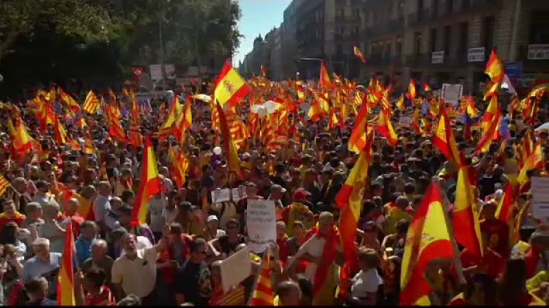 Rusia, acuzată că a susţinut independenţa Cataloniei printr-o campanie de dezinformare