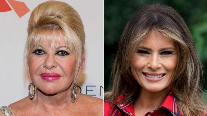 Conflict între prima-doamnă a Americii și fosta soție a lui Donald Trump