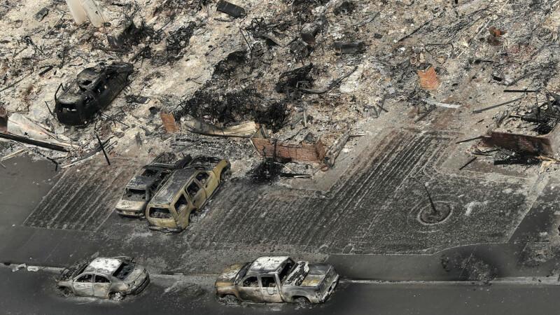 distrugere incendii California