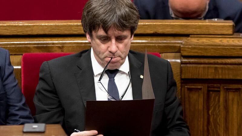 Liderul separatist catalan Carles Puigdemont cere Madridului să-i permită revenirea în Spania