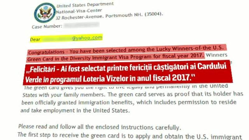 frauda loteria vizelor