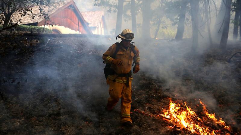 california incendiu