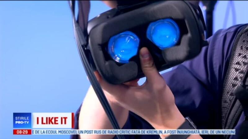 Demonstrație LIVE la iLikeIT cu un echipament de realitate virtuală