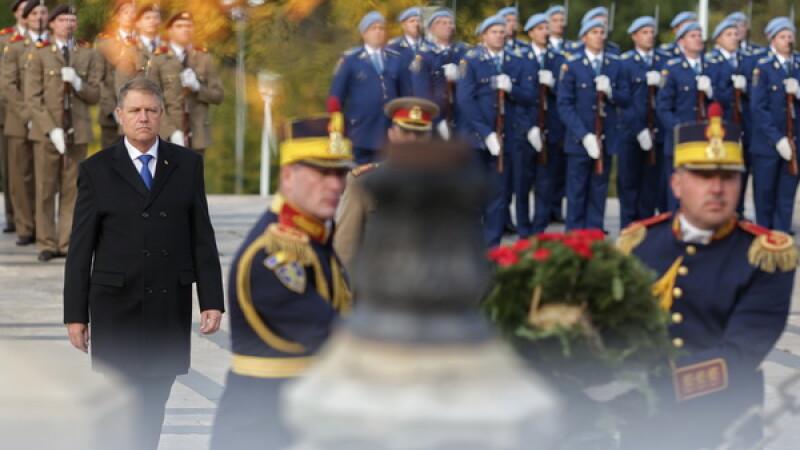 Klaus Iohannis, Ziua Armatei