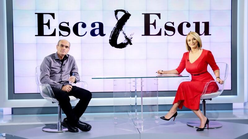 Andreea Esca, Cristian Tudor Popescu,