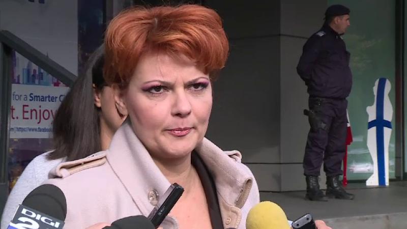 Olguţa Vasilescu: Partidul ar putea propune suspendarea lui Iohannis dacă nu va accepta un nou premier PSD