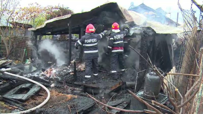 incendiu Dâmbovița