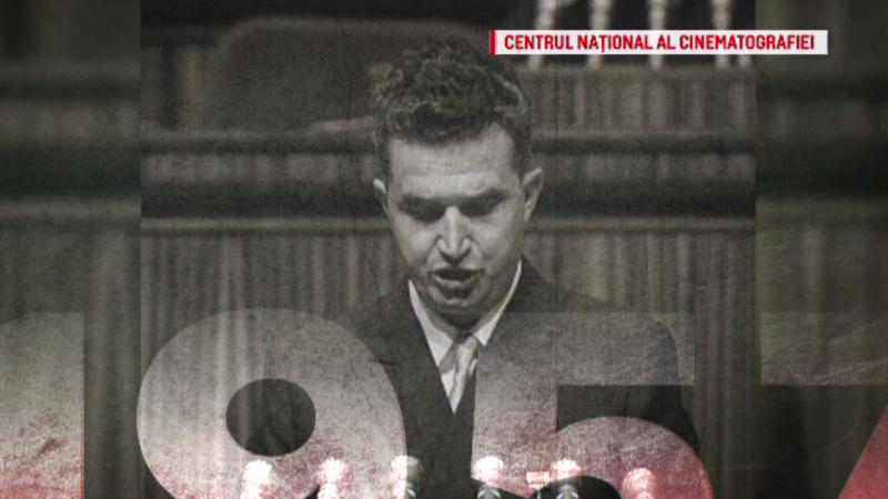 """""""100 de ani în 100 de zile"""". 1957 - Anul în care Nicolae Ceaușescu este la un pas de moarte"""