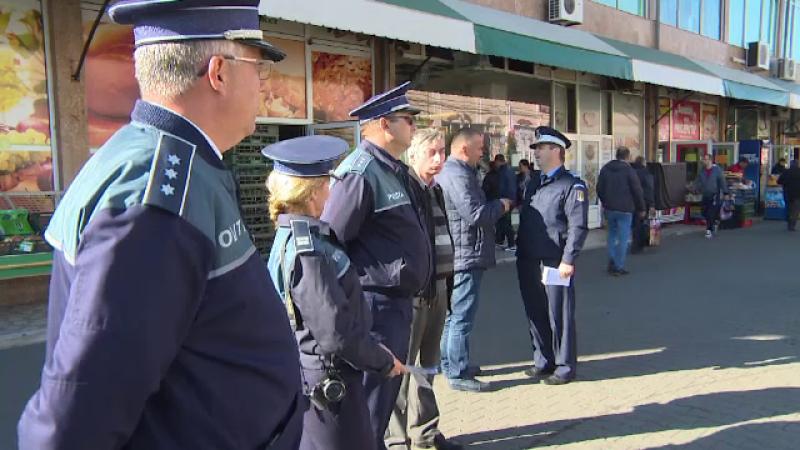 Polițiștii vor să prevină incidentele pe timpul referendumului. Măsurile luate