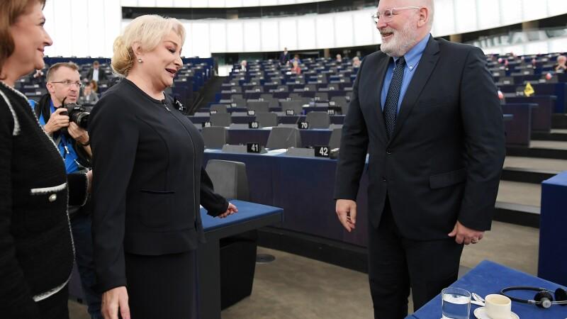 Filmul dezbaterii din Parlamentul European. Oficialii Uniunii au avertizat România că ar putea fi sancționată