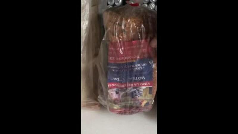 Ce a păţit proprietarul brutăriei care a băgat pliante pro-referendum în pungile cu pâine