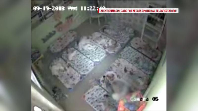 O fetiță de 2 ani ar fi fost bruscată de educatoare, în Constanța. Reacția mamei