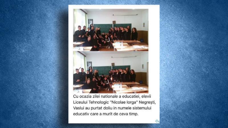 doliu ziua educatiei