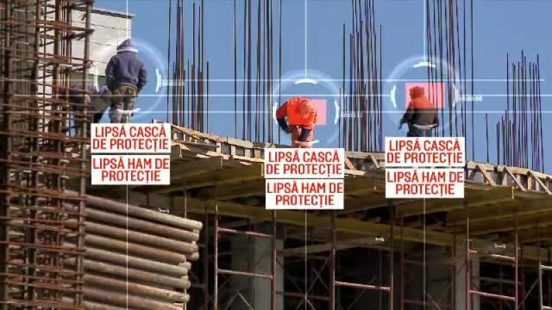 muncitori fara echipament de protectie