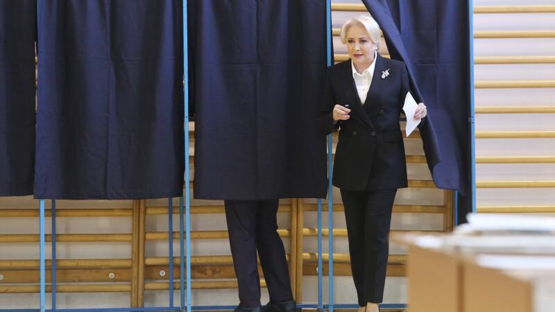 """Referendumul pentru familie. Mesajul transmis de Viorica Dăncilă, după ce a votat: """"Fiecare trebuie să se exprime"""". FOTO"""