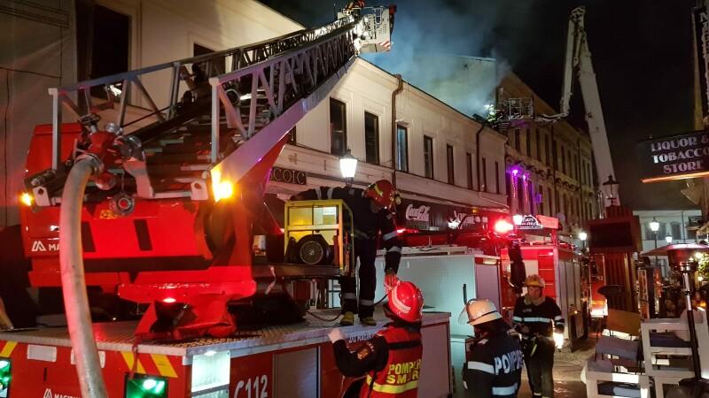 Incendiul din Centrul Vechi. 17 persoane vor fi relocate