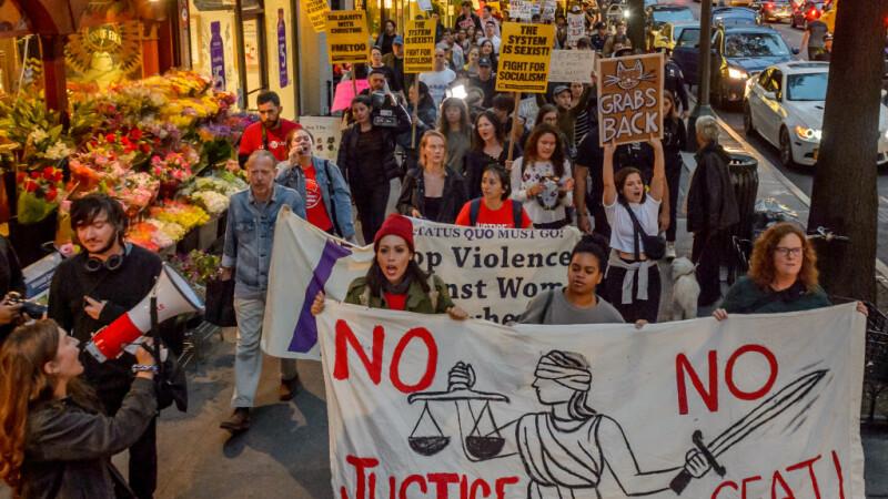 Proteste în SUA, după numirea pe viață a lui Brett Kavanaugh la Curtea Supremă. FOTO