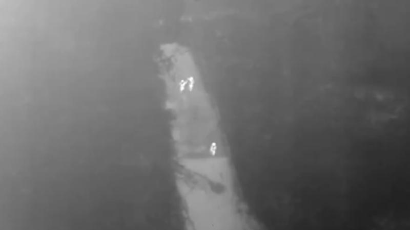 Victima unui viol a fost găsită cu drona în timp ce încă se afla cu atacatorul