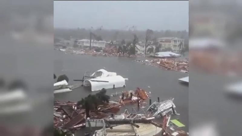 Momentul în care cea mai puternică furtună a secolului a lovit statul Florida