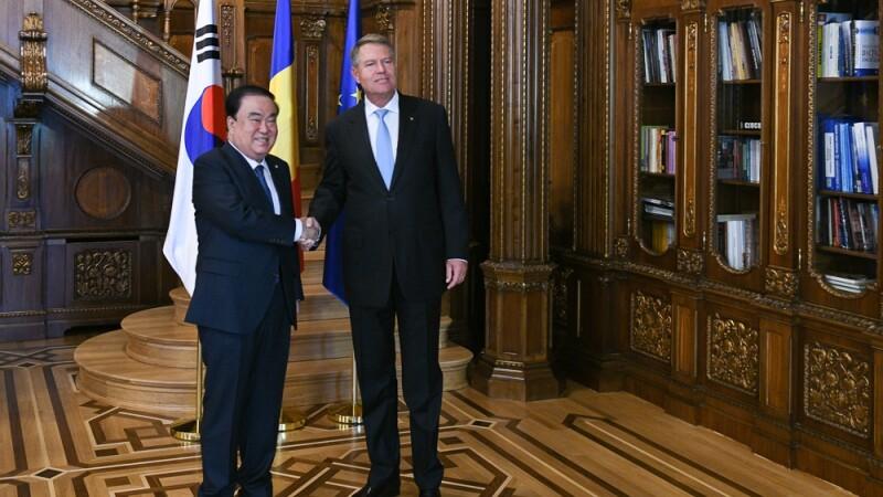 Anunțul lui Iohannis privind consolidarea parteneriatului strategic România - Coreea de Sud