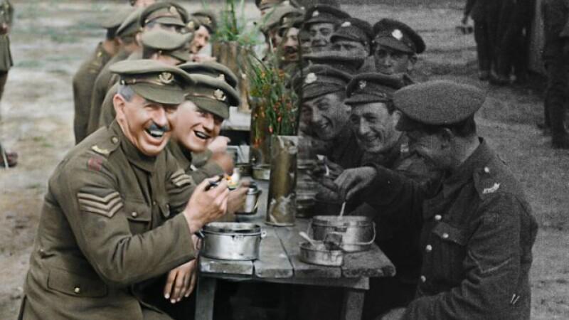 Imagini din timpul Primului Război Mondial, aduse la viață de regizorul care a făcut Stăpânul Inelelor