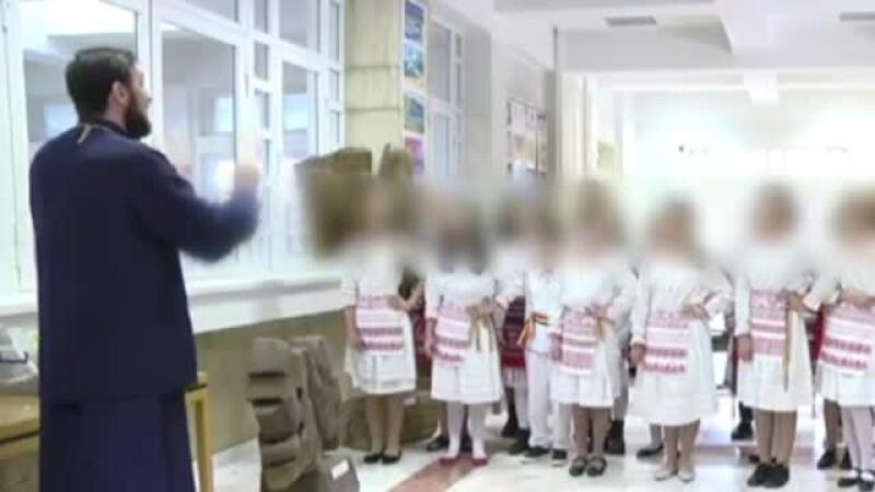 Ce a pățit preotul care a postat pe Facebook imagini revoltătoare cu elevi