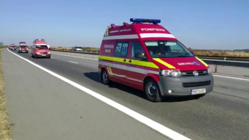 Forțe de intervenție din toată țara angrenate în simularea de cutremur de la Bucureşti