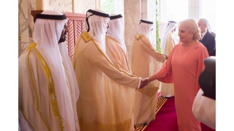 Viorica Dancila, Emiratele Arabe Unite