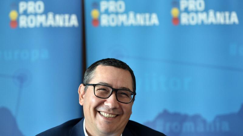 Ponta acuză o înţelegere Iohannis-Dragnea pentru alegeri.
