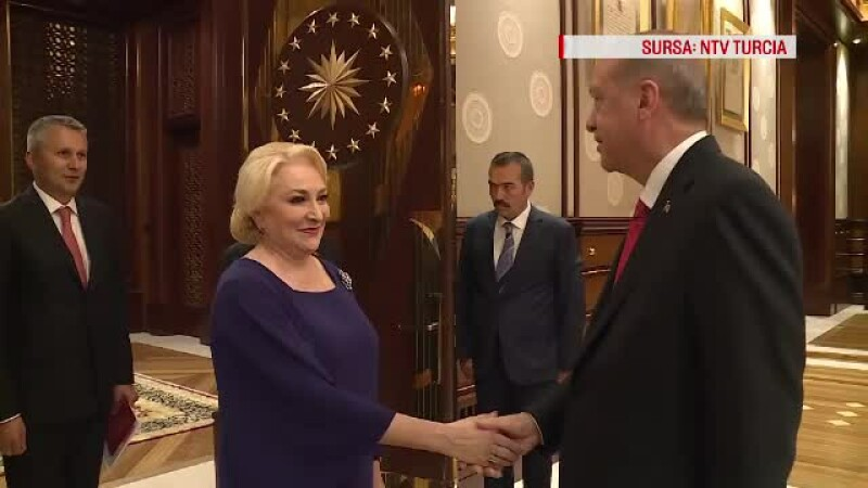 Dancila si Erdogan